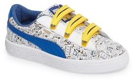 Puma Girl's Minions Basket V Sneaker
