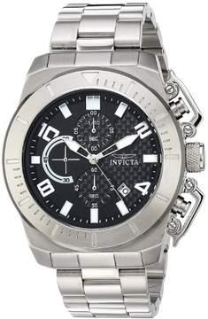 Invicta Pro Diver Men's Watch 23400 Silver/Black Quartz