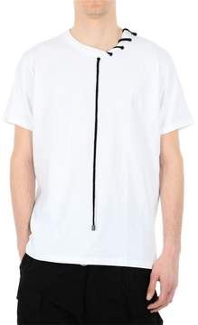 Craig Green White Lace Detail Jersey T-shirt