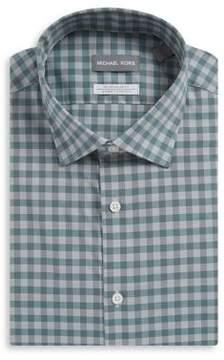 MICHAEL Michael Kors Regular-Fit Airsoft Stretch Check Dress Shirt