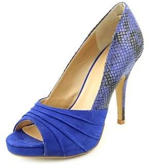 Thalia Sodi Marissa Peep-toe Canvas Heels.