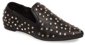 Dolce Vita Women's Hamond Stud Embellished Loafer Flat
