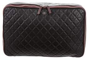 Chanel Quilted Document Holder