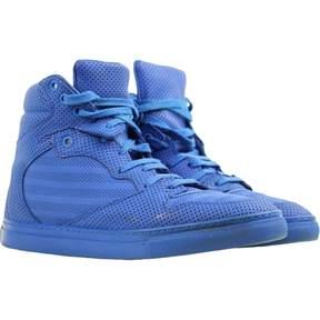 Balenciaga Blue Leather Trainers