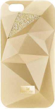 Swarovski Facets Smartphone Case with Bumper, iPhone® 7 Plus, Gold Tone