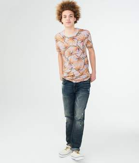 Aeropostale Birds Of Paradise Graphic Tee
