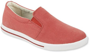 L.L. Bean Womens Sunwashed Canvas Slip-On Sneakers