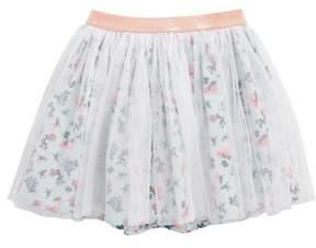 Tucker + Tate Floral Tulle Skirt