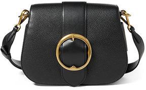 Polo Ralph Lauren Leather Large Belt Saddle Bag