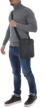 Armani Jeans Logo Print Shoulder Bag
