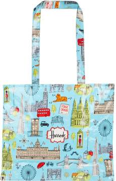 Harrods London Map Shoulder Bag