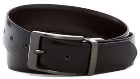 Steve Madden Burnished Reversible Leather Belt