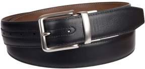 Croft & Barrow Big & Tall XL Feather Edge Stitch Casual Reversible Belt