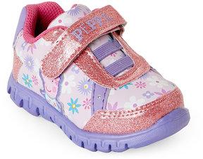 Peppa Pig Toddler Girls) Glitter Light-Up Sneakers