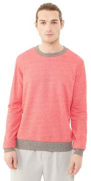 Alternative Apparel Champ Eco-Mock Twist Ringer Sweatshirt
