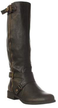 GUESS G by Hertlez Knee High Boot - Black, 5.5 M