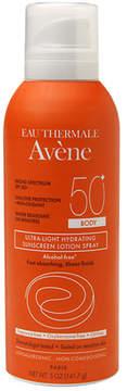 Avene Ultra-Light Hydrating Sunscreen Lotion Spray, Body SPF 50+