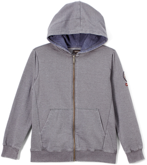 Buffalo David Bitton Quiet Shade Logo Zip-Up Forzo Hoodie - Boys