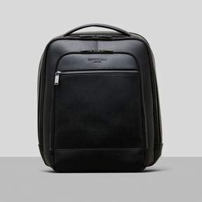 Kenneth Cole New York Saffiano Leather Double Compartment Backpack
