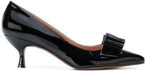 L'Autre Chose pointed-toe bow pumps