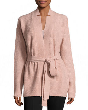 ATM Anthony Thomas Melillo Cashmere Blend Belted Cardigan Sweater
