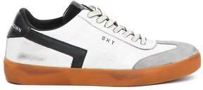 Leather Crown Skt Low Cut Sneakers