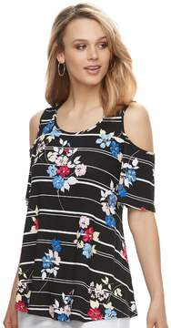 Elle Women's Cold-Shoulder Top
