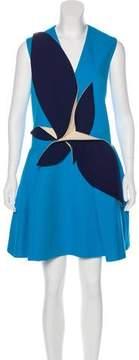 DELPOZO 2017 Sleeveless Mini Dress w/ Tags