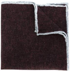 Eleventy denim-like pocket square