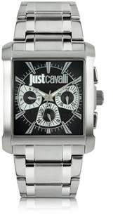Just Cavalli Men's Silver Steel Watch.