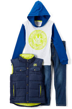 DKNY Dress Blues Vest Set - Infant, Toddler & Boys