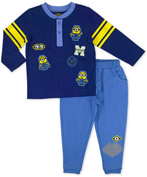 Nannette 2-Pc. Shirt & Pants Set, Little Boys (4-7)