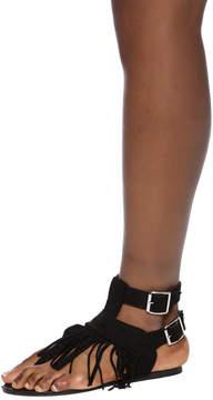 Wild Diva Fringe Sandals