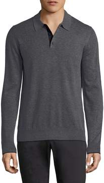 Jack Spade Men's Buttoned Sweater Polo