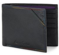 Robert Graham Logo Engraved Leather Wallet