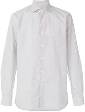 Canali classic patterned shirt