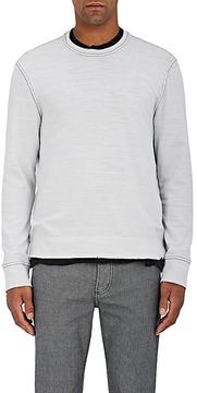 James Perse Men's Stockinette-Stitched Cotton Sweater