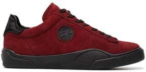 Eytys Red Suede Wave Sneakers