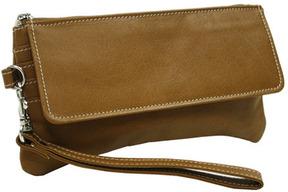 Women's Piel Leather Flap-Over Wristlet 2782