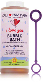 California Baby I Love You Aromatherapy Bubble Bath
