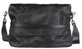Valentino Men's Black Polyamide Messenger Bag.