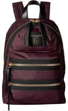 Marc Jacobs Nylon Biker Mini Backpack Backpack Bags - DARK VIOLET - STYLE