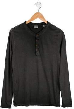 Scotch Shrunk Boys' Distressed Ombré Shirt w/ Tags