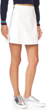 Courreges Side Zip Miniskirt