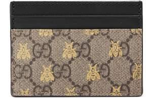 Gucci GG Supreme bees card case - GG SUPREME - STYLE