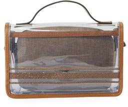 Brunello Cucinelli Monili See-Through Crossbody Bag