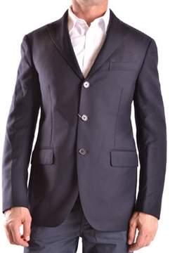 Cantarelli Men's Blue Wool Blazer.