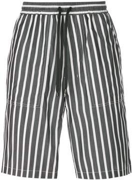 Ami Alexandre Mattiussi elasticated waist Bermuda shorts