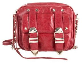 Rebecca Minkoff Leather Crossbody Bag - RED - STYLE