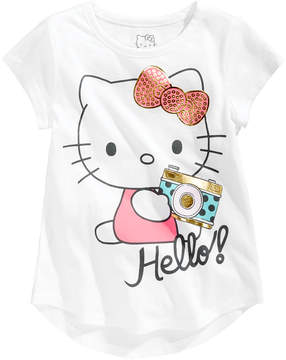 Hello Kitty Hello! Camera Cotton T-Shirt, Little Girls (4-6X)
